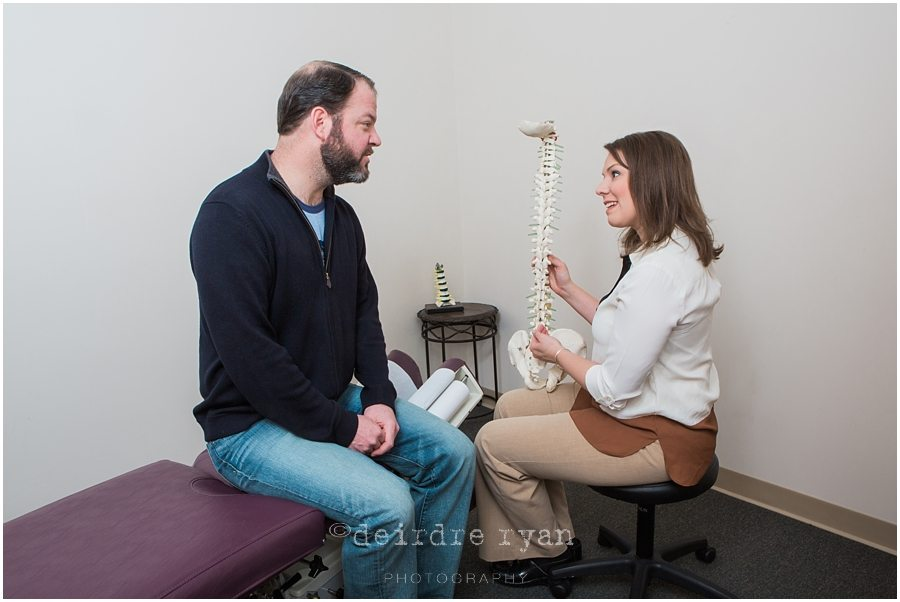 Branding Photography Shoot For A Chiropractor's Office